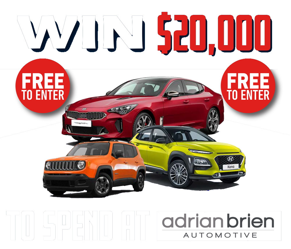 adelaide win a car competitions